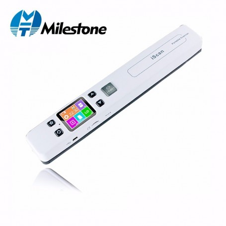 Milestone Document Scanner wifi wireless Photo Fine Resolution 1050DPI Portable Scanner Connected JPG/PDF File Format IScan02 -