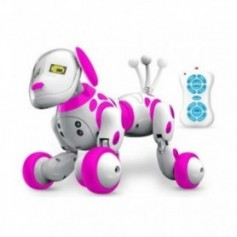 Hipac Remote Control Smart Robot Dog Programable 2.4G Wireless Kids Toy Intelligent Talking Robot Dog Electronic Pet kid Gift