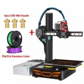 KP3S Upgrade 3D Printer Aluminum Resume Printer High Precision Touch Screen DIY 3D Printer kit impressora 3d 180x180x180mm